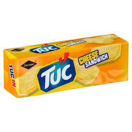 Jacob's TUC Cheese Sandwich 150g £1 Or 2 For £1.50 @ Iceland