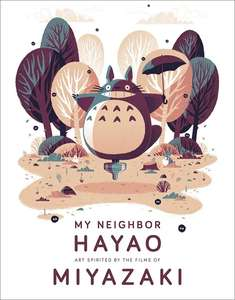 My Neighbor Hayao: Art Inspired By The Films Of Miyazaki (Hardcover) PreOrder for 14/04 £16.49 delivered @ Forbidden Planet