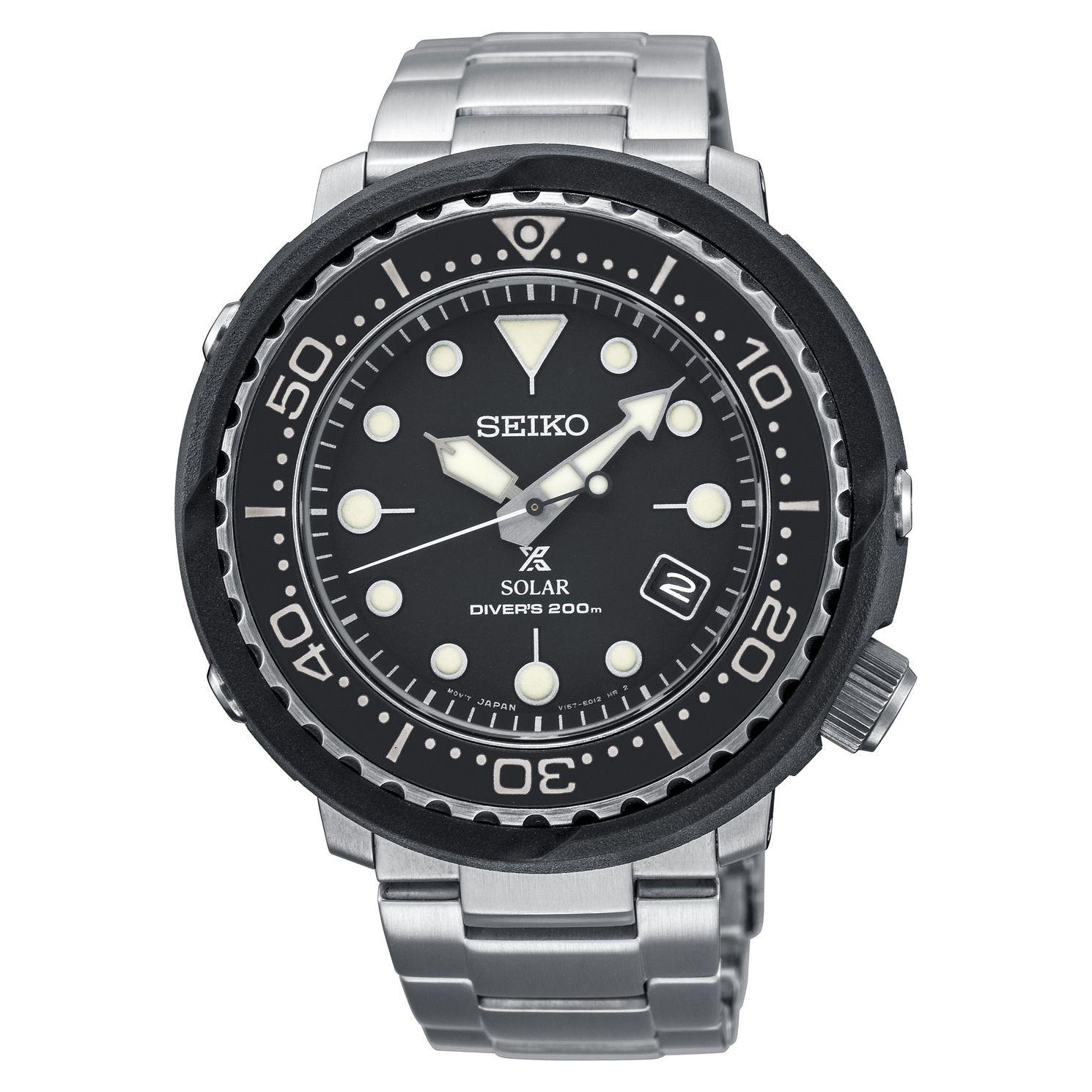 Seiko Prospex Solar Diver's Stainless-Steel Bracelet Watch, £216.75 at Ernest Jones