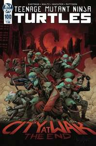 Teenage Mutant Ninja Turtles: #100 (Cover A Wachter) £1.35 + £1 delivery @ Forbidden Planet
