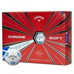 Callaway Chrome Soft Truvis Saltire Golf Balls - £19.54 With Code @ eBay / affordablegolfclearance