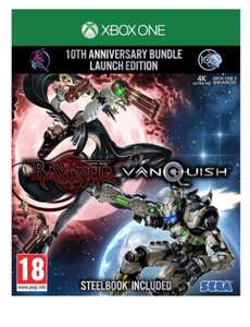 Vanquish and bayonetta xbox one £19.95 @ The game collection