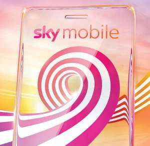 Sky Mobile Sim only 2 GB data + Unlimited call and text £6 for 12 months £72 Or £3 if on 50% deal