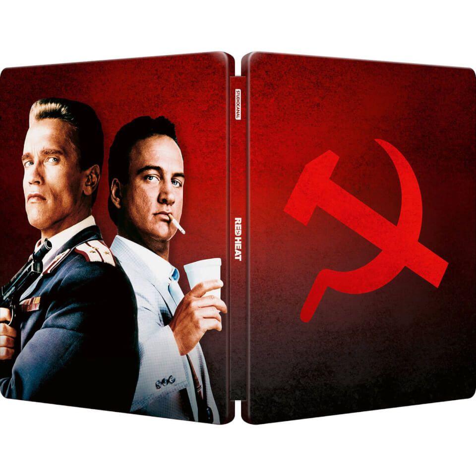 Red Heat - 4K Ultra HD Steel book / Zavvi Exclusive £24.99 + £1.99 delivery @ Zavvi
