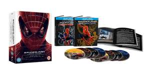 Spider-Man Legacy Collection Limited Edition [Blu-ray Box Set] £19.99 @ HMV (£2 P&P)