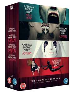 American Horror Story: Complete Seasons One, Two, Three & Four [DVD Box Set] £12.99 Delivered @ HMV