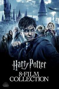 Harry Potter collection in 4K for £34.99 iTunes