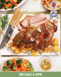 Fresh British leg of Lamb £4.95 per Kg at Aldi from Monday