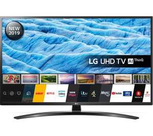 """LG 55UM7450PLA 55"""" Smart 4K Ultra HD HDR LED TV with Google Assistant for £379.05 with code delivered @ Currys eBay"""