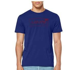 Levi's Men's Housemark Graphic Tee T-Shirt Blue XL £7.65 @ amazon (+£4.49 Non-prime)