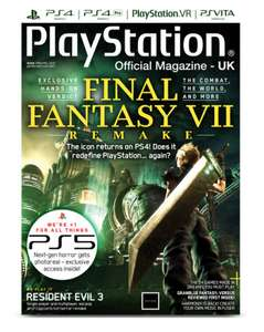 5 months official playstation uk magazine printed version £5
