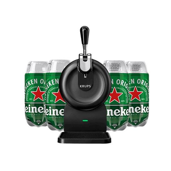 Krups SUB Compact Heineken Starter Pack £99 @ Beerwulf