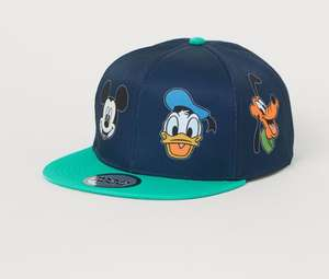 Kids Motif-detail caps - Mario, Tom & Jerry, Micky Mouse, Iron Man, Spider-Man, Paw Patrol & more - £4.79 delivered, using code @ H&M