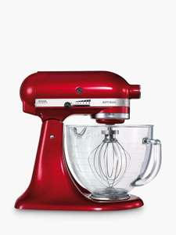KitchenAid Artisan 4.8L Stand Mixer, Candy Apple Red £299 @ John Lewis & Partners