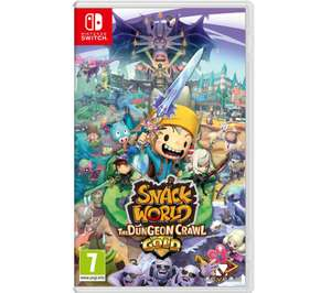 Snack World for Nintendo Switch £27.97 @ Currys PC World
