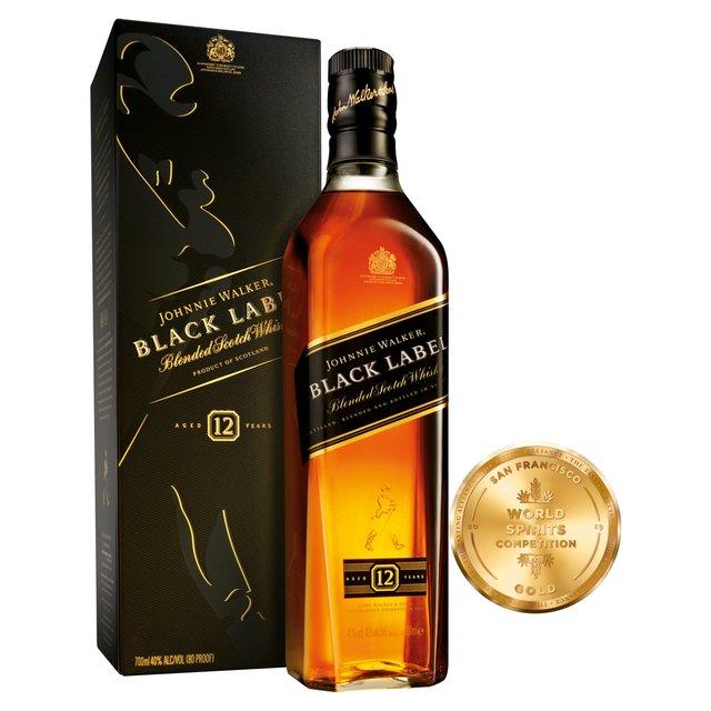 Johnnie Walker Black Label Whisky 70cl £22 @ Morrisons