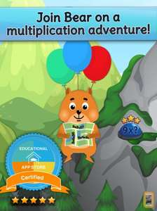 Times Tables and Friends (educational game for 6-8 years old) Free @ iOS App Store