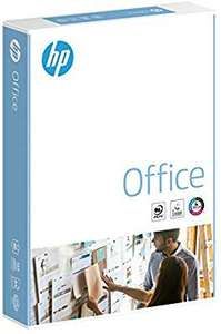 HP Office A4 210x297mm 80gsm 500 sheets £3.47 Amazon (+£4.49 non-prime)