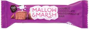 Mallow & Marsh Mallow and Marsh Double Chocolate Marshmallow Bar, Pack of 12 Bars (35 g) £1.69 @ Amazon (+£4.49 Non-prime)