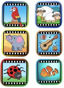 A collection of 7 educational Video Touch apps for babies and toddlers Free @ Apple AppStore