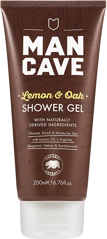 ManCave Lemon & Oak Shower Gel 200ml £2.00 @ Amazon (+£4.49 Non-prime)