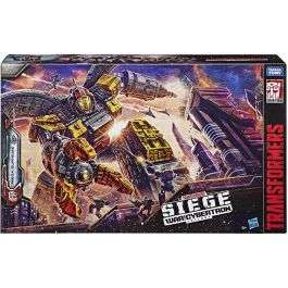 Transformers Siege War For Cybertron Titan Class Omega Supreme Playset Toy Kids - £119.99 With Code @ Bargain Max