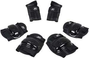 Boys / Girls XQ Max Childs Skate / Cycle Knee Elbow Wrist Protection Pads Set Black(Age 6-9) £4.99 delivered @ The Magic Toy Shop / Amazon