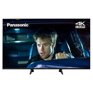 Panasonic TX65GX700B 65 4K Ultra HD HDR LED TV - £589 (using code) @ Hughes / Ebay