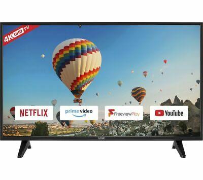 "LOGIK L55UE19 55"" Smart 4K Ultra HD HDR TV - £299 at Currys/ebay"