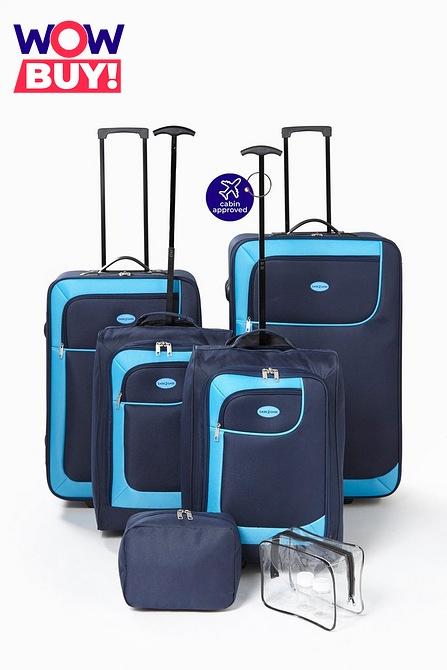 Studio 6-Piece Luggage Set - £34.99 delivered using code @ Studio