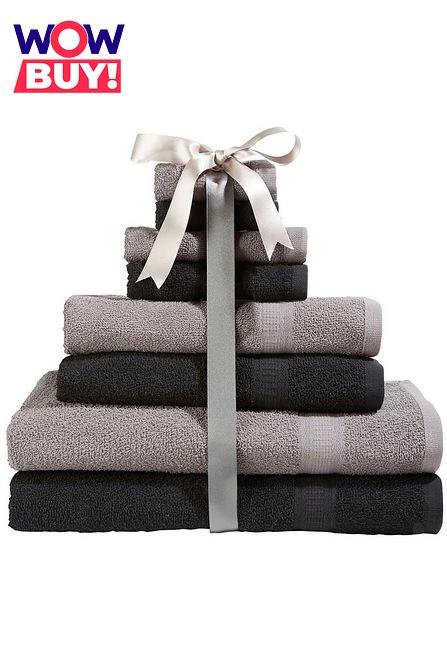 Studio - Kingsley Dup 8-Piece Towel Bale £6.69 delivered with code @ Studio