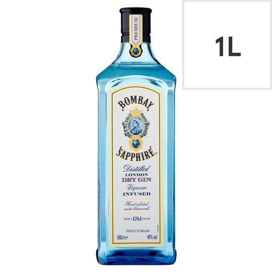 Bombay Sapphire Gin 1l @ Asda for £22