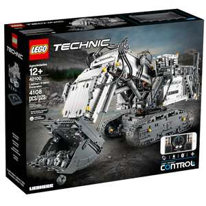Lego Technic: Liebherr at I Want One of Those for £299.99 (13th April restock)