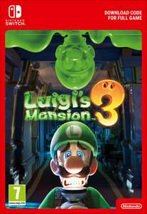 Luigi's Mansion 3 for Nintendo Switch Download at ShopTo for £39.85