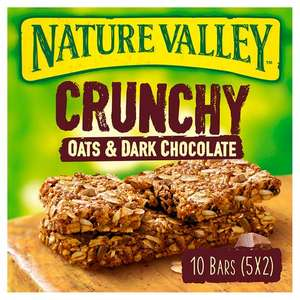 Nature Valley Crunchy Granola Oats & Chocolate Bars 5X42g at Tesco for £1