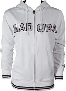 Diadora Womens Full Zip Hooded Jacket White S-M, M-L £4.99 delivered @ Startfitness-outlet ebay