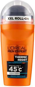 L'Oréal Paris Men Expert Carbon Protect Roll On Anti-Perspirant Deodorant Thermic Resist 50ml - £1.29 Prime (£5.78 non-Prime) @ Amazon
