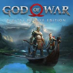 God of War Digital Deluxe Edition PS4 £14.74 @ Playstation PSN