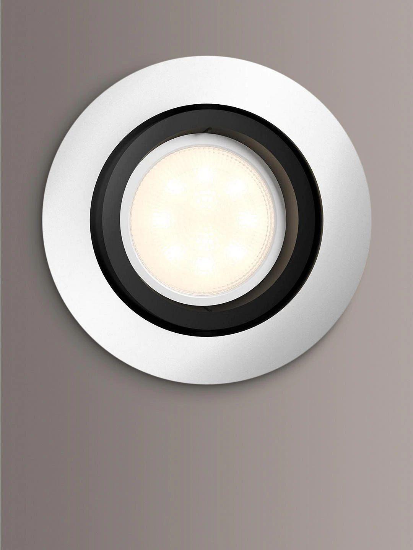 Philips Hue Milliskin Single Recessed Spotlight, Aluminium £20.29 Delivered @ John Lewis & Partners
