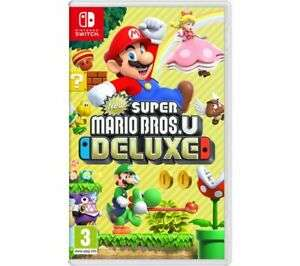 NINTENDO SWITCH New Super Mario Bros. U Deluxe £36.99 with code at Currys/ebay