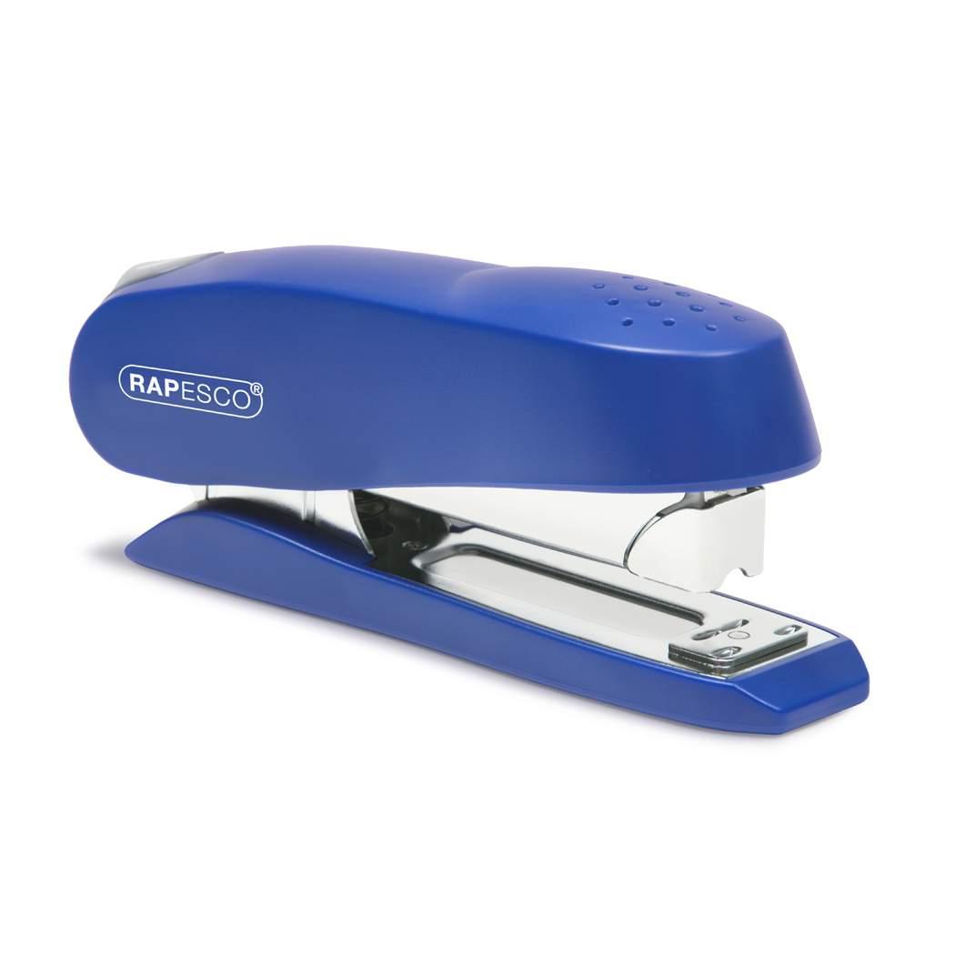 Rapesco 0237 Luna Half Strip Executive Heavy Duty Stapler - Blue, 50 Sheet Capacity @ Amazon £7.05 Free Delivery with Prime