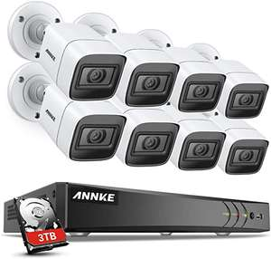ANNKE 8CH Ultra HD 4K CCTV Camera System DVR Kit - £389.99 @ Amazon / Dispatched from and sold by Smart Home Brand Store