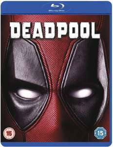 Deadpool Blu-ray (Used - Very Good) £3.59 Delivered at £3.59 at WorldOfBooks