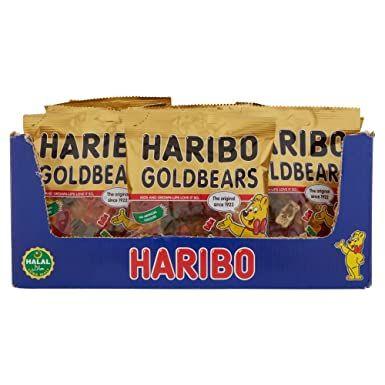 Haribo Halal Sweets Goldbears, 100 g, Pack of 24 - £18.96 prime / £23.45 non prime (£16.12 S&S) @ Amazon