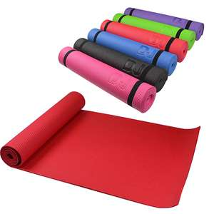 1 x PVC Yoga Exercise Large Workout Mat with FREE delivery - £9 @ Yankee Bundles