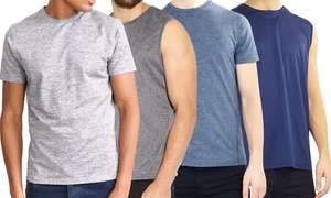 Brave Soul Men's Vest or T-Shirt - £1.09 / £3.08 delivered @ Groupon