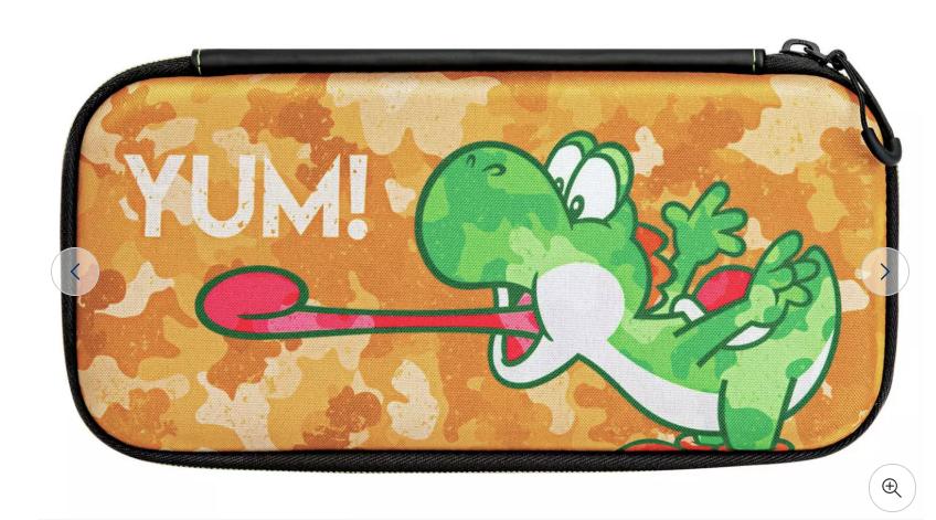 Nintendo Switch Slim Travel Case - Yoshi Camouflage 334/0145 - £5.99 + £3.95 delivery @ Argos