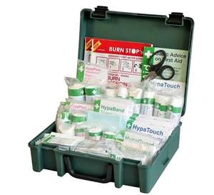 Safety First Aid Group Medium British Standard First Aid Kit (BS-8599-1:2019 Compliant) £17.50 prime / £21.99 non prime @ Amazon