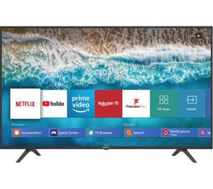"""Hisense H50B7100UK (2019) 50"""" LED HDR 4K Ultra HD Smart TV with Freeview Play - £284.05 with code @ Currys / eBay"""