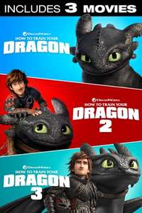 How to Train Your Dragon Trilogy (4K) £7.99 @ iTunes